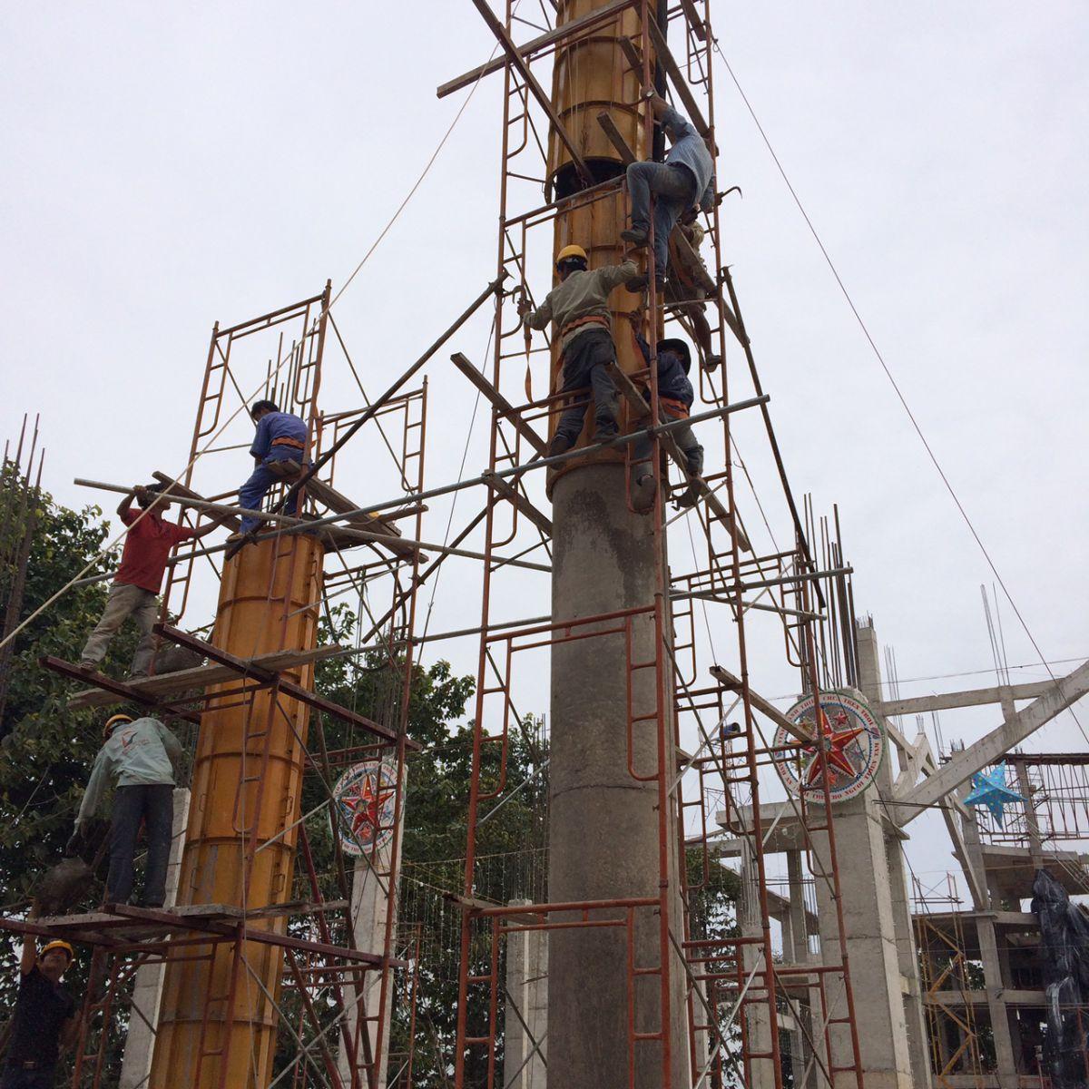 Thiết kế xây dựng Hoàng Phúc . Ảnh : coffaxaydungdongnai.com